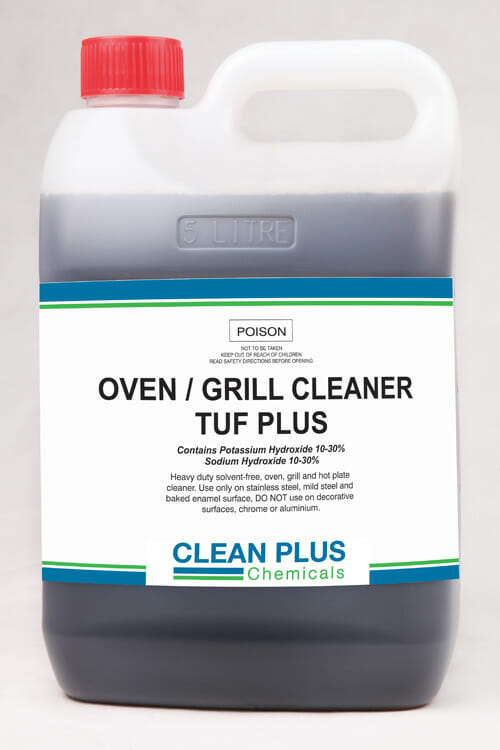 Oven Grill Cleaner Tuf Plus 5l Queensland Cleaning